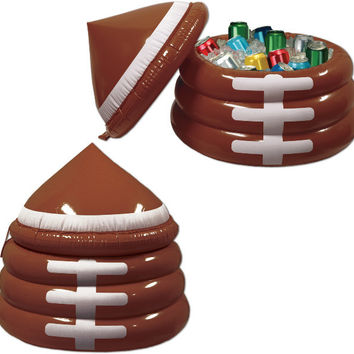 "football inflatable football cooler - 26"" x 23"""
