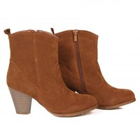Never Walk Away Tan Ankle Booties | Monday Dress Boutique