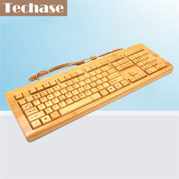 Kagan // Wood Wired Keyboard