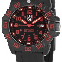 Luminox Men's 3065 Plastic Analog Plastic Bezel Watch