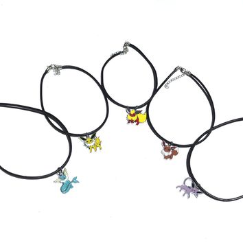 Evee Evolution Leather Chokers