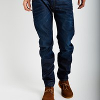 G-Star Stean Tapered Jean Navy - SALE at The Idle Man