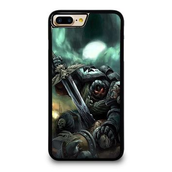 WARHAMMER BLACK TEMPLAR iPhone 4/4S 5/5S/SE 5C 6/6S 7 8 Plus X Case