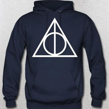 Harry Potter sweatshirt deathly hallows Hoodie Harry Potter Clothing Harry Potter 07 Hooded Sweatshirt Hogwarts Alumni Sweater Unisex