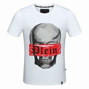 Gotopfashion 2018 Men  Cheap  Philipp Plein  T Shirt hot sale ¡á015