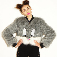 Lazy Oaf | Lazy Oaf x Looney Tunes Whats Up Doc Fur Coat