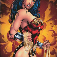 Wonder Woman Portrait DC Comics Poster 22x34