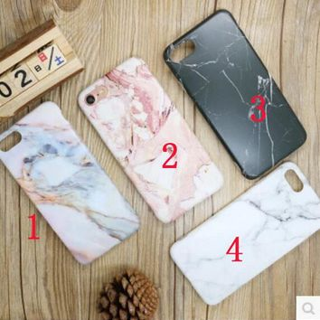 Marble print Phone Case Iphone 6s Creative iPhone7 Personality plus Silicone Case