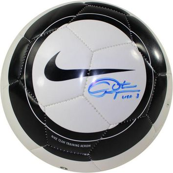 NOVO5 Christie Rampone Signed Nike Aero Black White Replica Soccer Ball