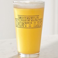 Friends Don't Lie Pint Glass | Urban Outfitters