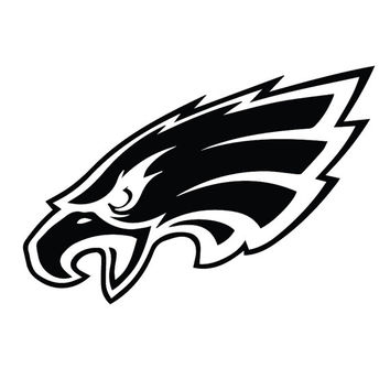 Philadelphia Eagles Decal Sticker for Car Truck Laptop ANY COLOR