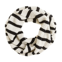 Stripe merino snood