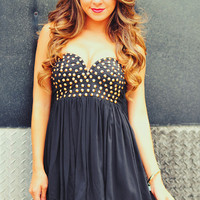 RESTOCK: Rock Star Barbie Dress: Black | Hope's