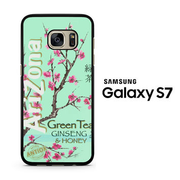 Arizona Green Tea SoftDrink Samsung Galaxy S7 Case