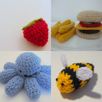 Four Toy Patterns for 8.00