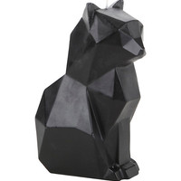 Pyropet Kisa Black Skeleton Cat Candle