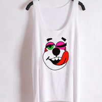 Favorite Designs miley cyrus shirt twerk bear ScreenPrint Tank top Mens and Tank top Girl