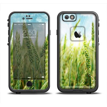 The Sunny Wheat Field Apple iPhone 6 LifeProof Fre Case Skin Set