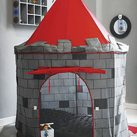 knight castle play tent by mini-u (kids accessories) ltd | notonthehighstreet.com