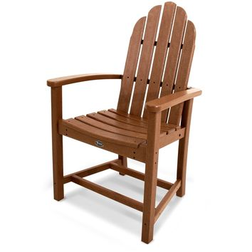 Trex Outdoor Furniture Cape Cod Adirondack Dining Chair