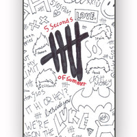 5 seconds of summer fanart for iPhone 4/4S Case **