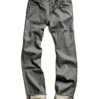 Gunmetal Selvedge Denim