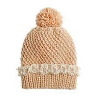 711 - Pearl and lace beanie - VALERY DEMURE