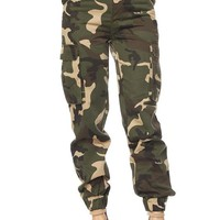 Army Brat High Waist Cargo Pants