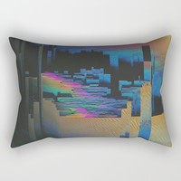 Bismuth Crystal Rectangular Pillow by duckyb