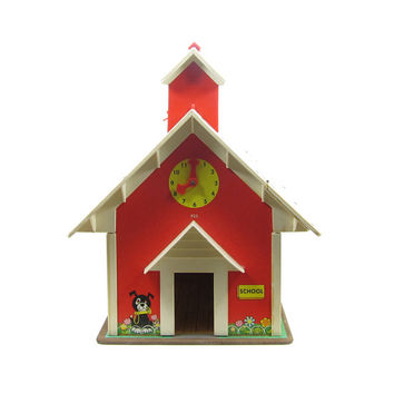 Fisher Price School House Little People Play Family Schoolhouse Toy
