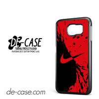 Nike Blood Red For Samsung Galaxy S6 Samsung Galaxy S6 Edge Samsung Galaxy S6 Edge Plus Case Phone Case Gift Present YO