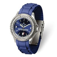 NFL dallas Cowboys Crystal Sparkle Lady's Football Watch