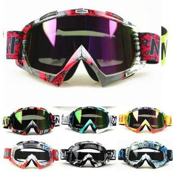 Motocross Goggles Glasses Cycling Downhill Dirt Off Road Helmet Ski Sport Eyewear Motorcycle Dirt Bike Racing Goggles