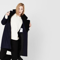 Finn Wool Cocoon Coat | The Arrivals