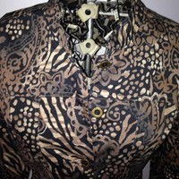 Chico's Floral and Animal Print Jacket from Fashion Gypsies