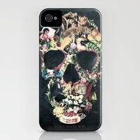 Vintage Skull iPhone Case by Ali GULEC | Society6