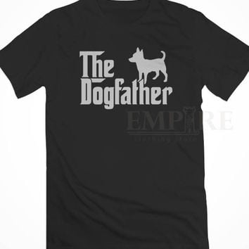 The Dogfather Chihuahua Dogs Unisex/Men Tshirt All Size