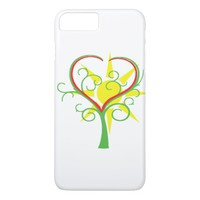 Tree, heart and sun iPhone 8 plus/7 plus case