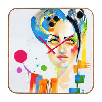 Marta Spendowska Beauty 1 Custom Clock