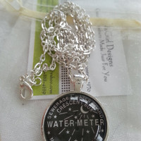 New Orleans Water Meter Necklace  FREE SHIPPING