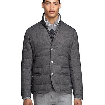 Quilted Blazer - Brooks Brothers
