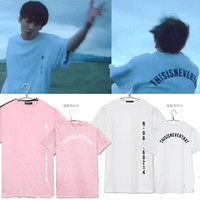 BTS T-shirt Bangtan Boys Unisex Tee Kpop BTS SAVE ME JUNGKOOK Same Style short sleeves Couple T shirt tee