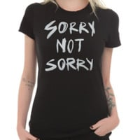 Sorry Not Sorry Girls T-Shirt