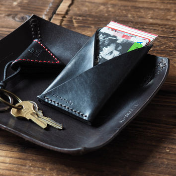 Leather Card Holder #Black