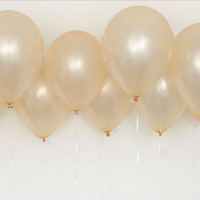 "30 GOLD Pearl Balloons, 10"" - Party Decoration, Wedding Decoration, Bridal Shower Decoration, Baby Shower Decoration, Reception Decoration"