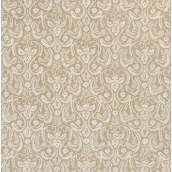 Surya Sanderson Medallions and Damask Neutral SND-4538 Area Rug