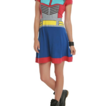 Transformers Her Universe Optimus Prime Costume Dress