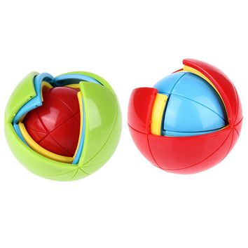 New 3D  Intellect Puzzle Maze Ball Brain Teaser Game Educations for Kids IQ Training Logical Puzzle Children Toy