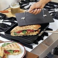 All-Clad Gourmet Accessories Panini Pan with Press