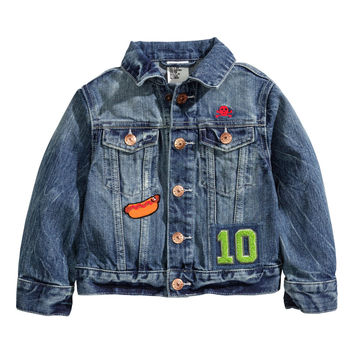 H&M - Denim Jacket - Denim blue - Kids
